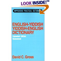 English-Yiddish Yiddish-English Dictionary: Romanized (Hippocrene Practical Dictionary)